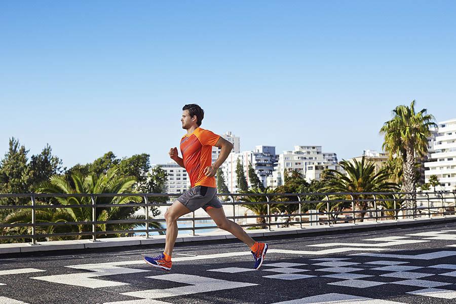 Cambiar zapatillas para correr