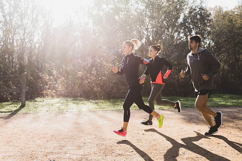 sancion por correr running