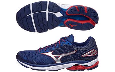 tipos de zapatillas de running: mizuno-wave-rider-20
