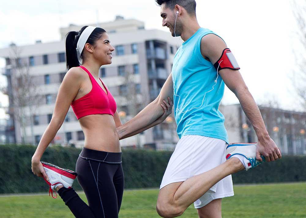 entrenar con tu pareja